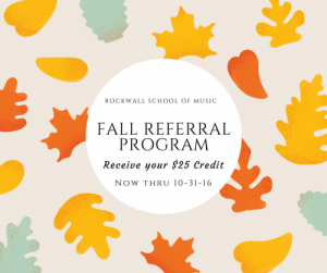 FALL REFERRAL PROGRAM